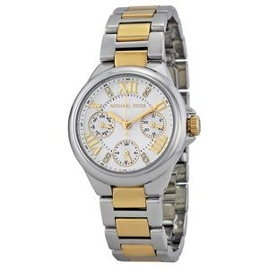 White Dial Two-tone Ladies Mk5760 Watch